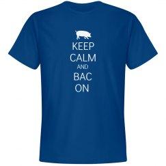 Keep calm and Bac on