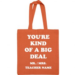 This Teacher Is A Big Deal