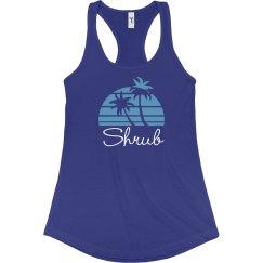 Coconut Tree - Shrub Blue