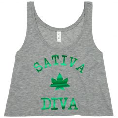 Trendy Metallic Sativa Diva