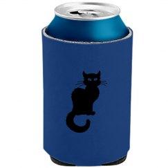 Black Cat Koozie