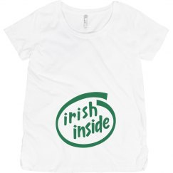 Irish Baby Inside Maternity