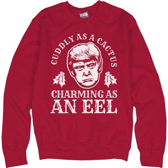 4ca1d9da19 A Mean One Mr Trump Unisex Ultimate Cotton Crewneck Sweatshirt