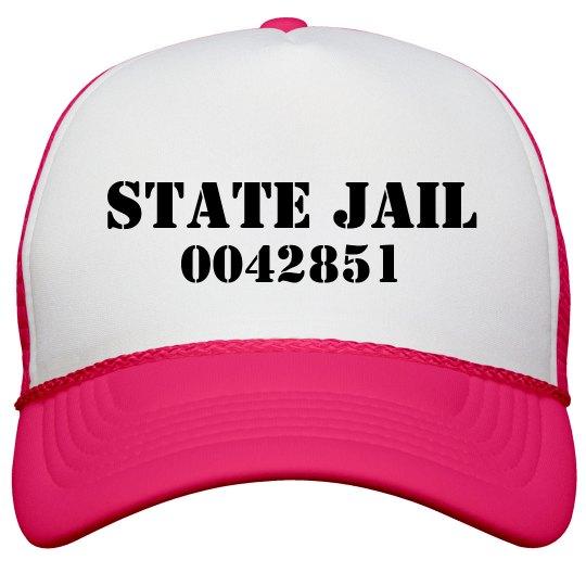 a8414dbd State Jail Prisoner Neon Snapback Trucker Hat