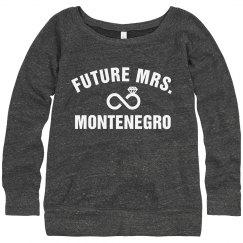 Future Mrs. Montenegro