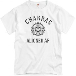 Yo My Chakras Are Aligned AF