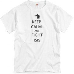 KEEP CALM AND FIGHT ISIS