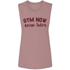 Gym Now, Wine Later