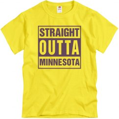 Straight Outta Minnesota T-Shirt