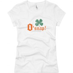 O'Snap St Patricks Irish Women's