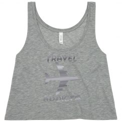 Travel Addicts Crop Top