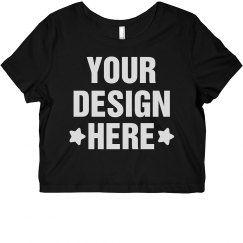 Custom Designer Crop Top