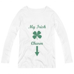 My Irish Charm Maternity Top