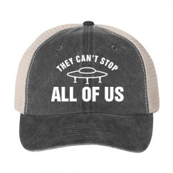 Can't Stop Us Alien Hat