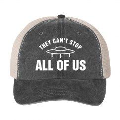 Can't Stop Us Alien Hat