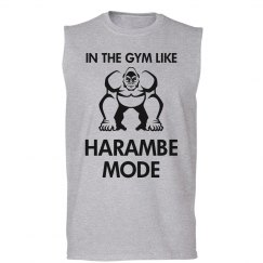 In The Gym Harambe Mode