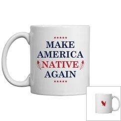 Make America Native Again Red Eagle