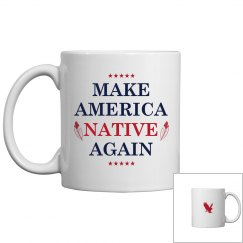 Make America Native Again Red Eagle