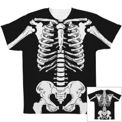 Skeleton Costume All over Print