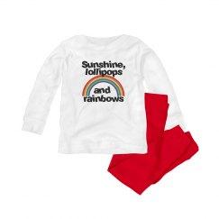 Sunshine, lollipops and rainbows