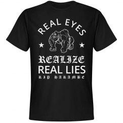 RIP Harambe Real Eyes Realize Lies