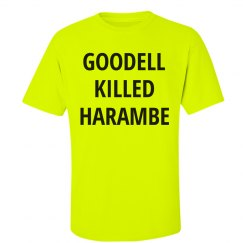 Goodell Killed Harambe Neon Sign