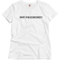 WiFi Password? Shirt