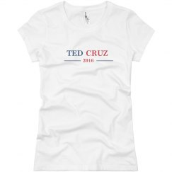Ted Cruz Woman's Shirt