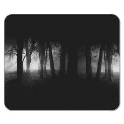 Dark Foggy Woods Mousepad
