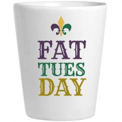 Fat Tuesday Shotglass