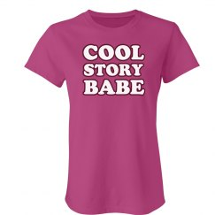 Very Pink Story Babe