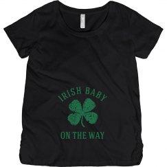 Irish Baby on the Way Irish Maternity Top