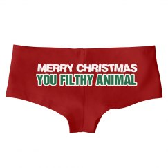 Merry X-Mas Filthy Animal