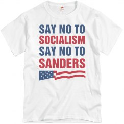 Say No To Bernie Sanders