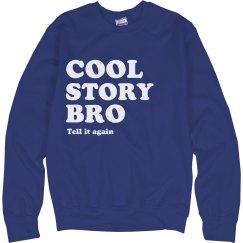 Cool Story Left Align