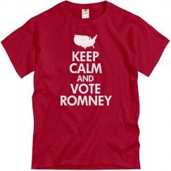 Keep Calm Vote Romney