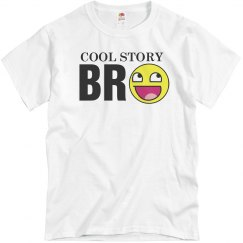 Cool Story Bro Smiley