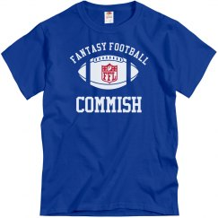 Fantasy Football Commish Shirt