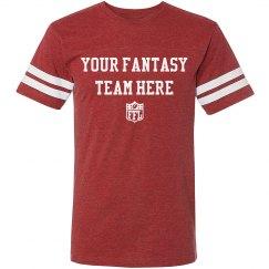 Custom Name Fantasy Football Tee