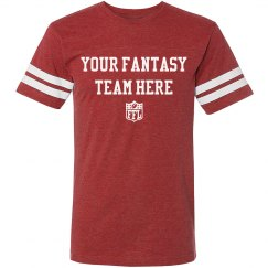 Custom Name Fantasy Football Tee