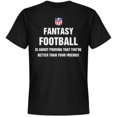 Fantasy Football League Joke Tee