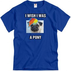 Ah, To Be a Pony