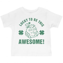 Funny Lucky St Pattys Child