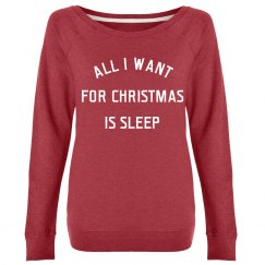 All I Want For Christmas Is Sleep