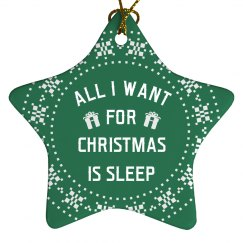 I Just Want Sleep This Christmas