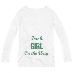 Irish Girl on the Way
