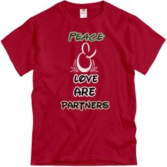 Peace and Love are Partners