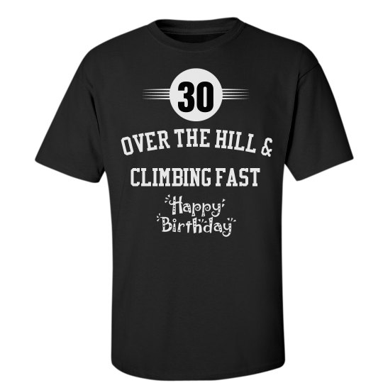 30 and over the hill