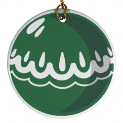 Green Ball Ornament