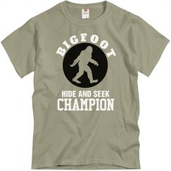 Bigfoot Hide & Seek Champ